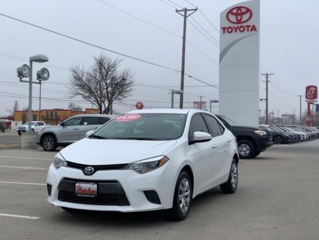 Pre-Owned 2016 Toyota Corolla L Sedan For Sale in Joplin, MO