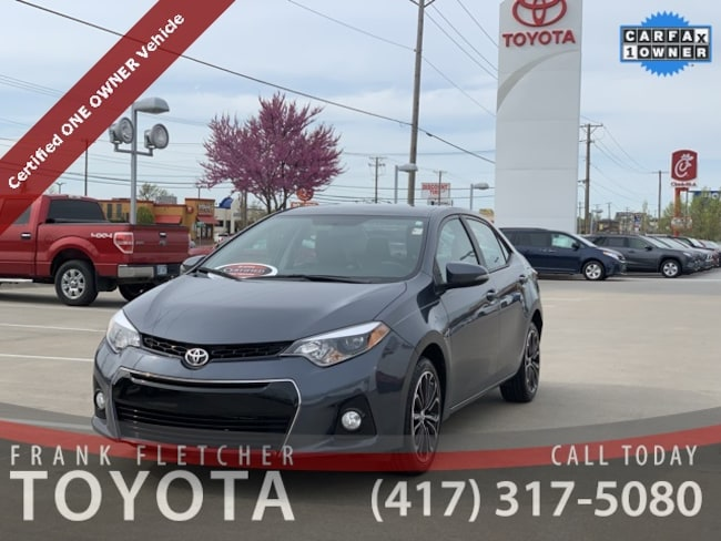 certified 2016 Toyota Corolla S Plus Sedan Joplin