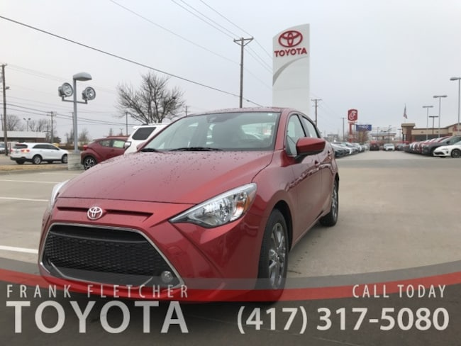 2019 Toyota Yaris LE Sedan