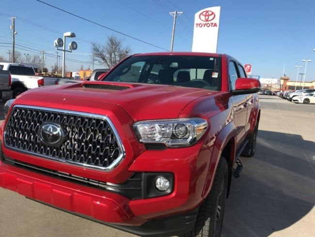Toyota Tacoma Truck >> New 2019 Toyota Tacoma Trd Sport For Sale Joplin Mo Serving