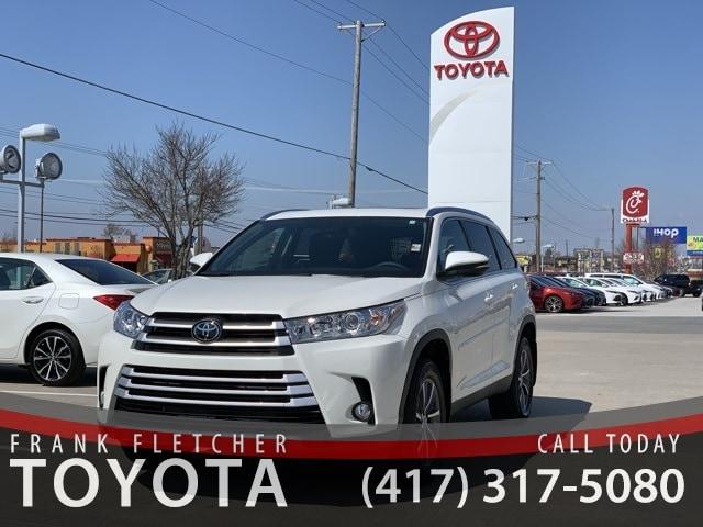 Fletcher Toyota Joplin Mo >> New 2019 Toyota Highlander For Sale At Frank Fletcher Toyota Vin 5tdjzrfh6ks586490