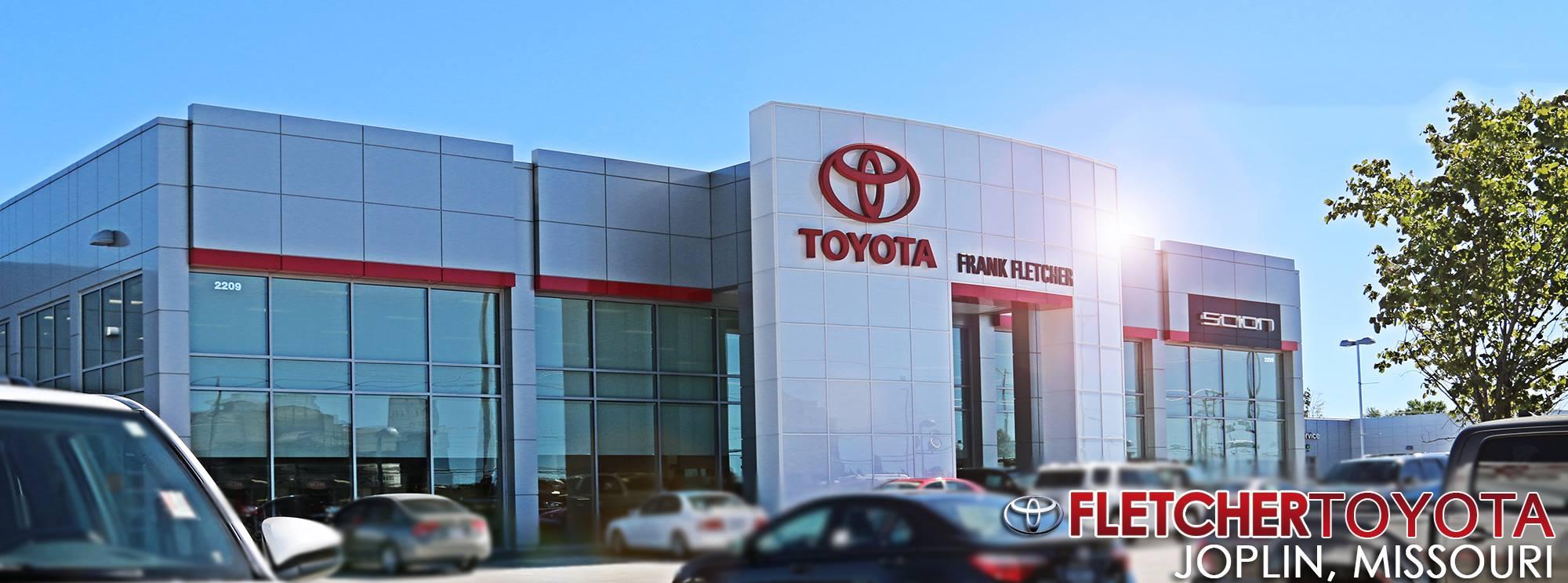 Fletcher Toyota Joplin Mo >> New Vehicle Specials Frank Fletcher Toyota