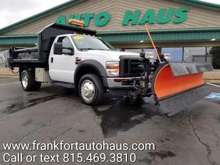 2010 Ford F-450 XL Regular Cab 4x4 9'contractors dump/uni mount pl Truck Regular Cab