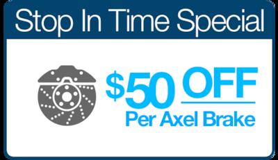 Stop In Time Brake Special