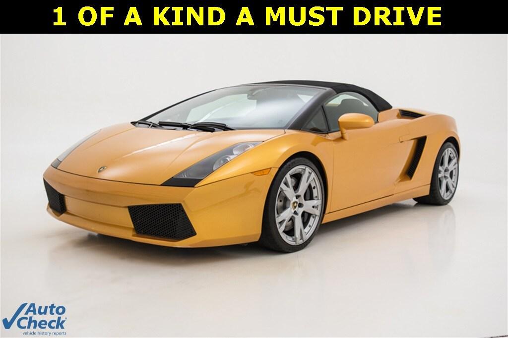 2007 Lamborghini Gallardo Base Convertible