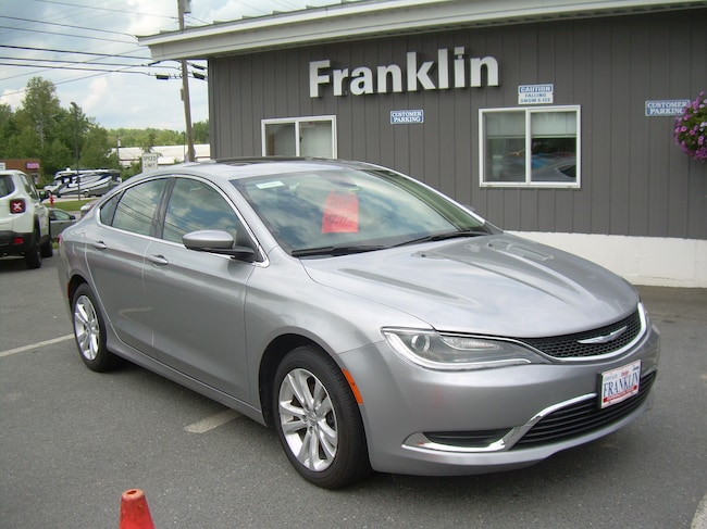 used 2015 chrysler 200 limited for sale in farmington me serving augusta. Black Bedroom Furniture Sets. Home Design Ideas