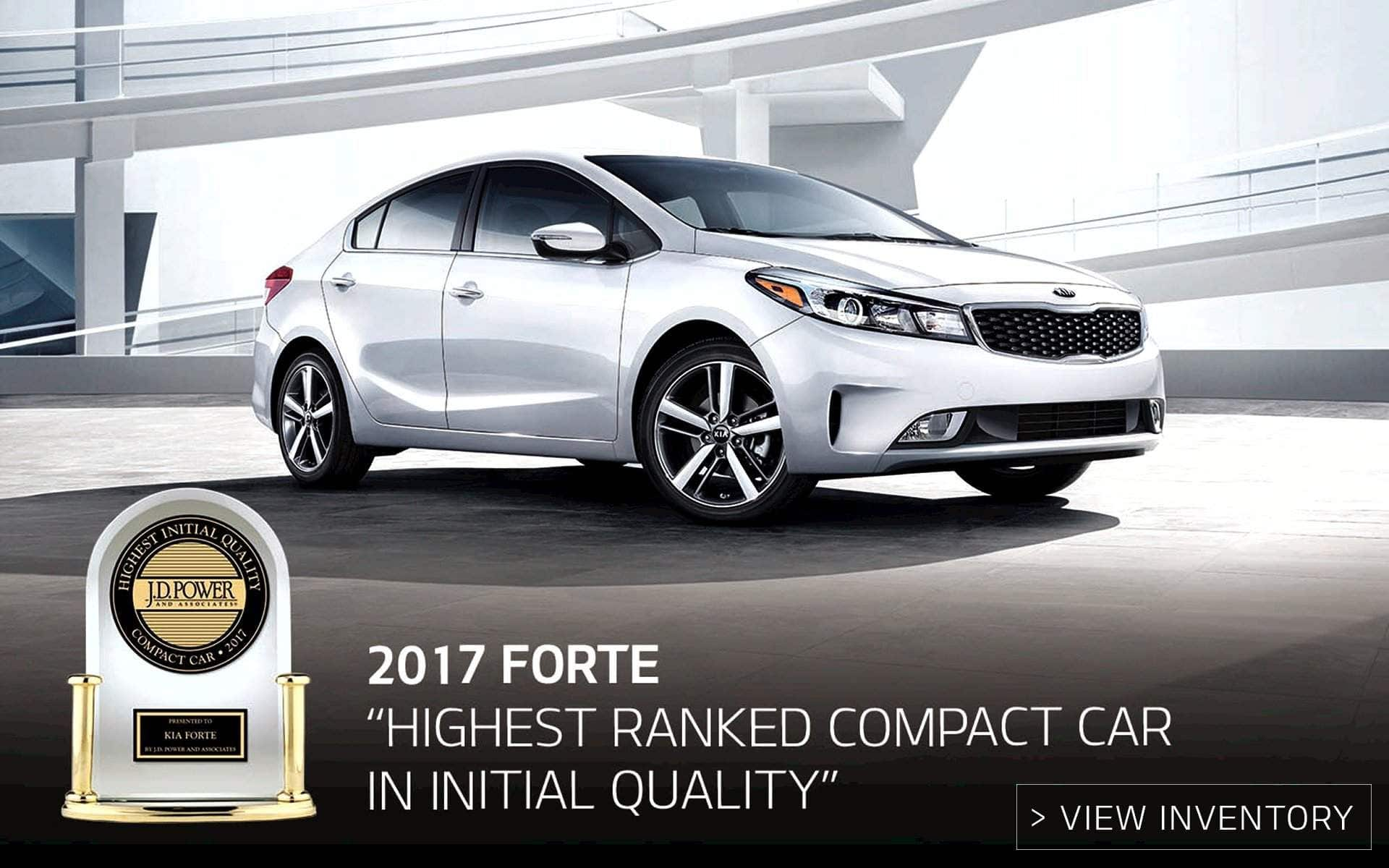 2017 Kia Forte JD Power Award Near Murfreesboro TN