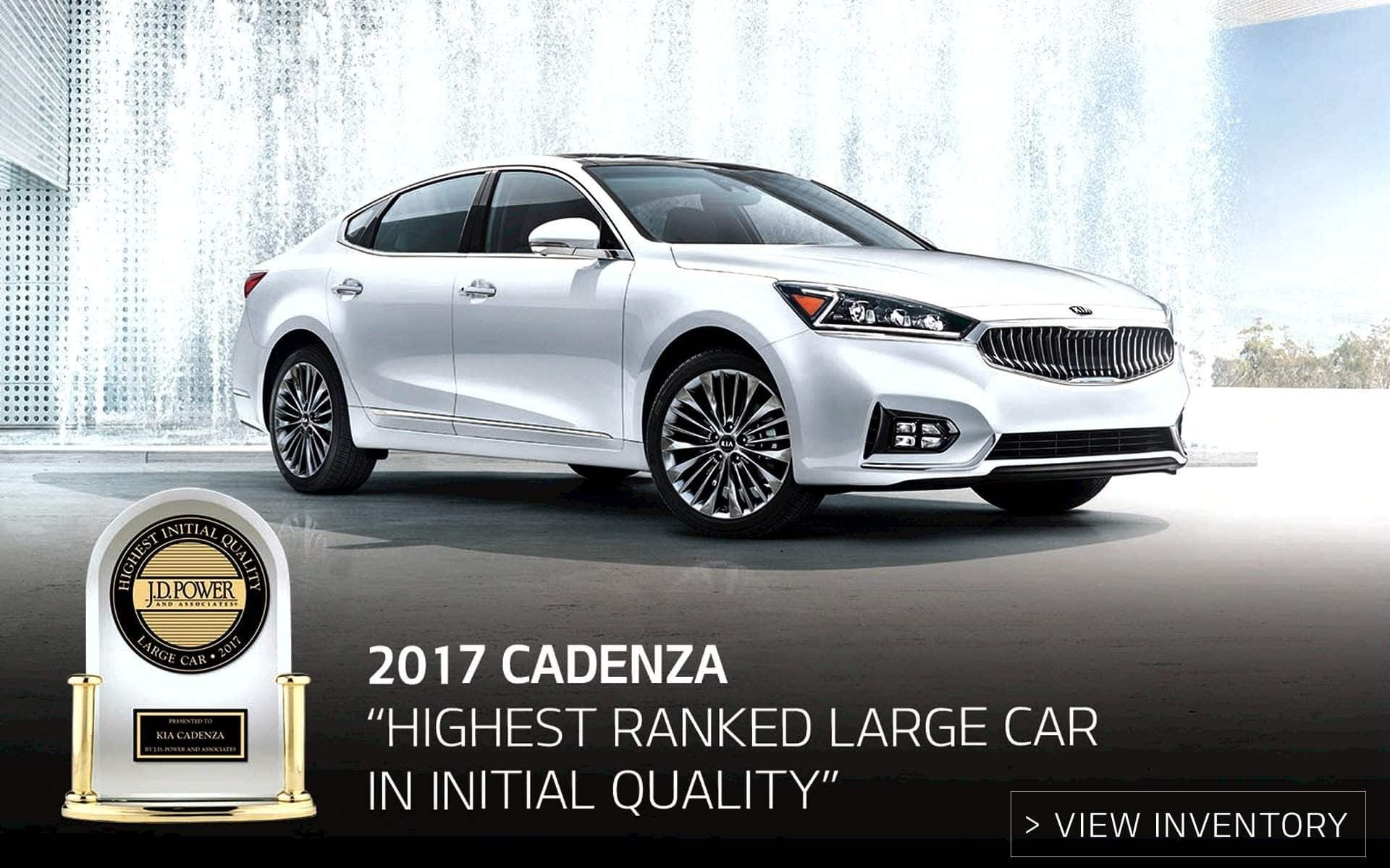 2017 Kia Cadenza JD Powers Award near Murfreesboro TN