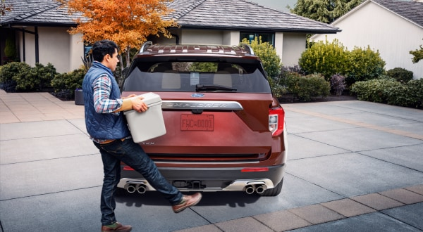 New Ford Explorer automatic liftgate