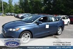 New 2018 Ford Fusion SE Car in Franklin, MA