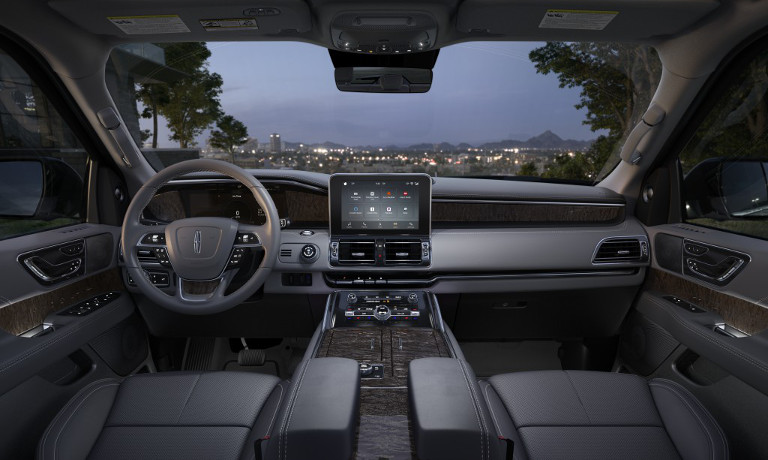 New 2019 Lincoln Navigator interior