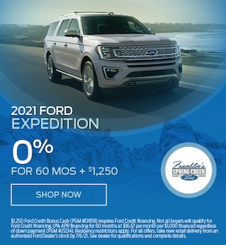 2021 Ford Expedition - April