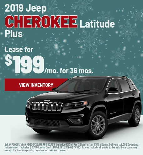 Jeep Cherokee Lease Special