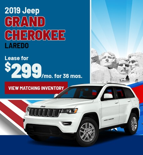 Grand Cherokee Lease Special