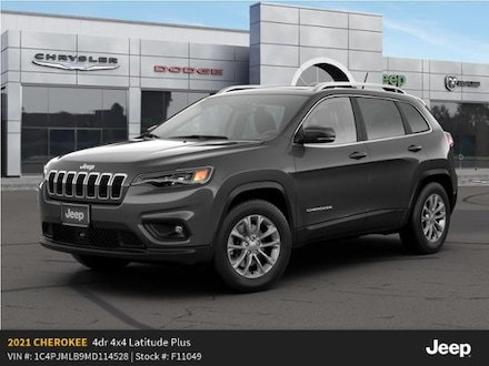 New 2021 Jeep Cherokee LATITUDE PLUS 4X4 Sport Utility For Sale in East Hanover, NJ