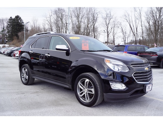 2016 Chevrolet Equinox LTZ SUV For Sale in Sussex, NJ