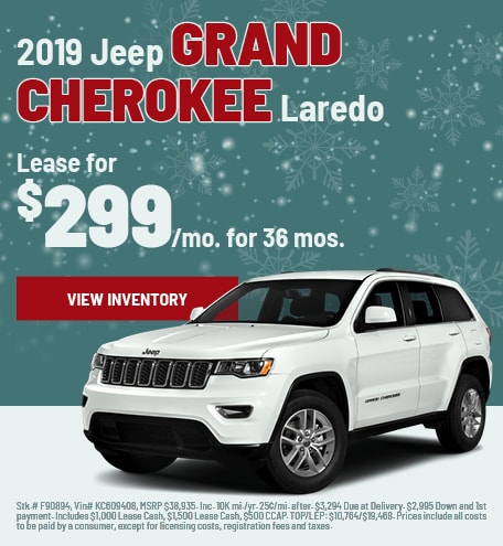 Jeep Grand Cherokee Lease Special