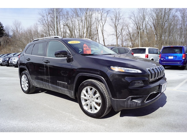 2016 Jeep Cherokee Limited SUV For Sale in Sussex, NJ