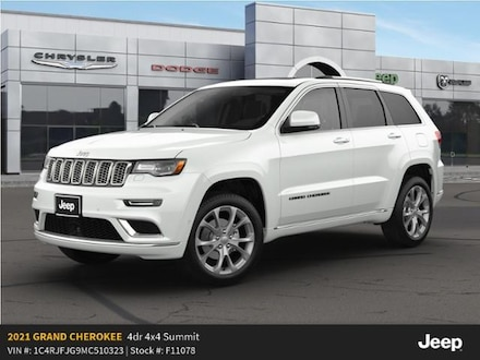 New 2021 Jeep Grand Cherokee SUMMIT 4X4 Sport Utility For Sale in East Hanover, NJ