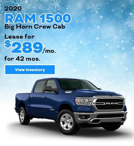 Ram 1500 Big Horn Crew Cab Lease Offer