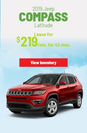 Jeep Compass Latitude 4X4 Lease Offer