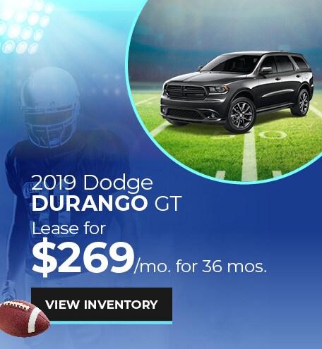 Dodge Durango GT Lease Offer
