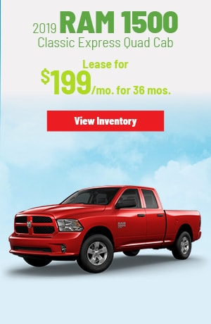 Ram 1500 Classic Express Quad Cab 4X4 Lease Offer