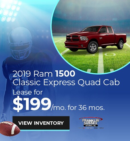 Ram 1500 Classic Express Quad Cab Lease Offer
