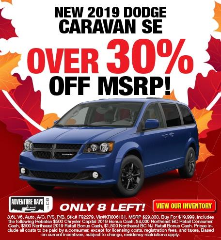 Dodge Grand Caravan SE Purchase Offer