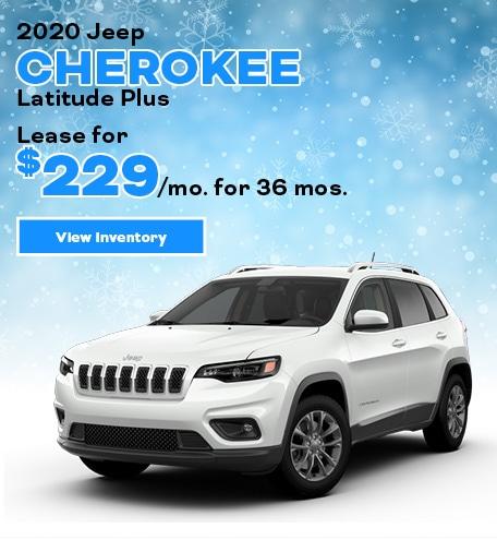 Jeep Cherokee Latitude Plus Lease Offer