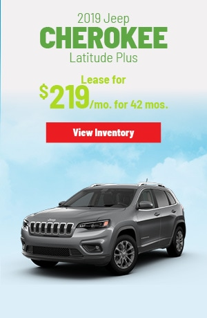 Jeep Cherokee Latitude Plus 4X4 Lease Offer