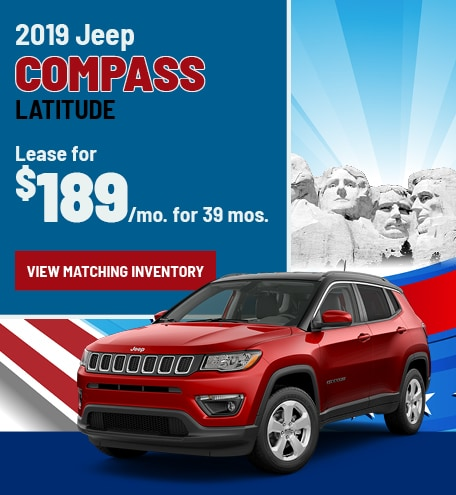 Jeep Compass Lease Special