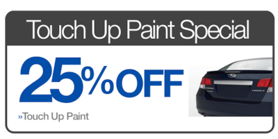 Touch Up Paint Special