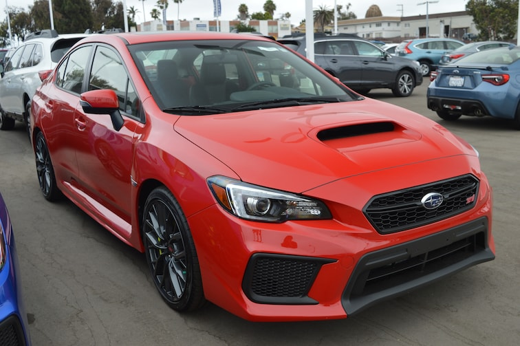 New 2019 Subaru Wrx Sti Limited For Sale In Greater San Diego Ca