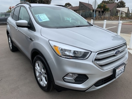 Featured Used 2018 Ford Escape SE SUV for Sale near San Diego, CA