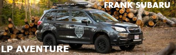 LP AVENTURE LIFT KIT AVAILABLE AT FRANK SUBARU | Frank Subaru
