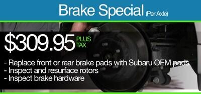 Brake Special (Per Axle)