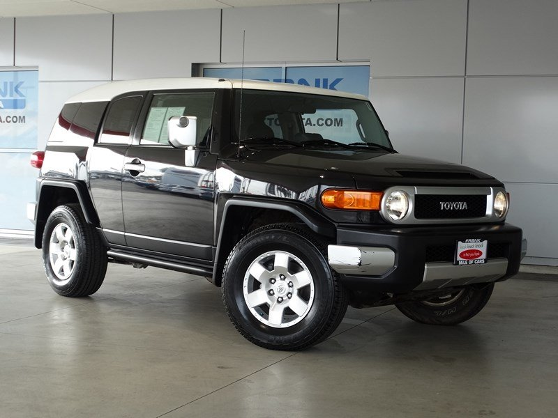 2007 Toyota FJ Cruiser 4DR 4WD AT 4WD  Manual