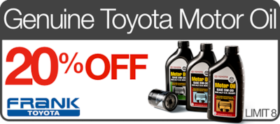 Genuine Toyota Motor Oil