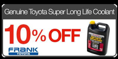 Genuine Toyota Super Long Life Coolant