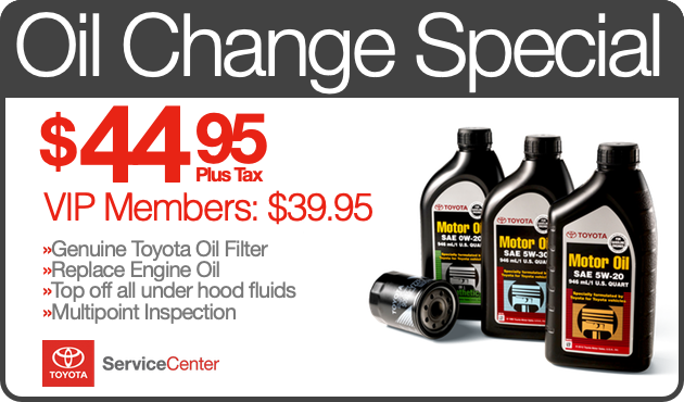 toyota service coupons san diego