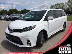 2020 Toyota Sienna SE 7-Passenger AWD Van Passenger Van