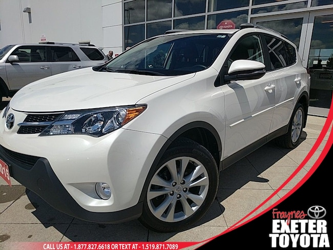 2015 Toyota RAV4 Limited with Tech Package SUV