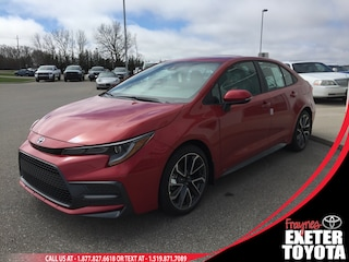 2020 Toyota Corolla SE Upgrade Sedan