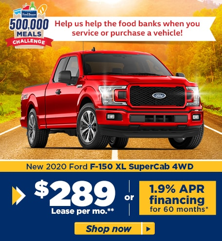 New 2020 Ford F-150 XL SuperCab 4WD