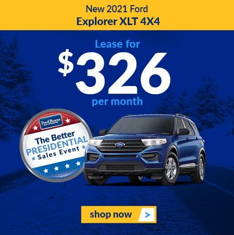 2021 Ford Explorer XLT 4x4
