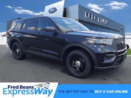 2021 Ford Police Interceptor Utility Base SUV