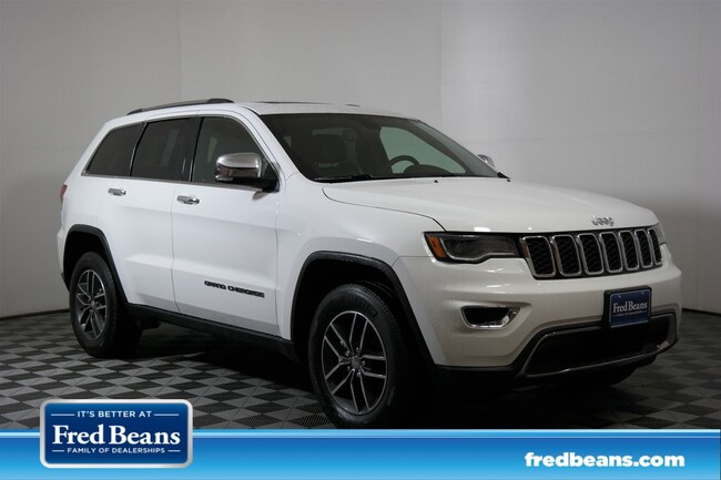 2018 Jeep Grand Cherokee Limited Lux II Limited 4x4