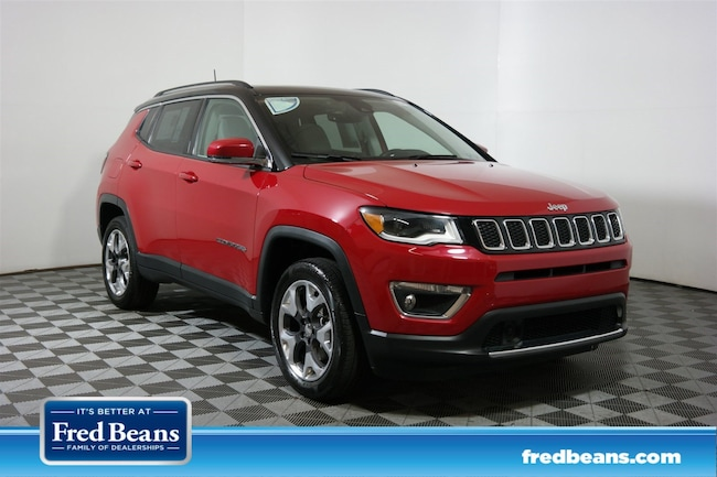 2018 Jeep Compass Limited Pano-Roof Limited 4x4