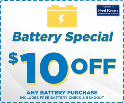 September Battery Special